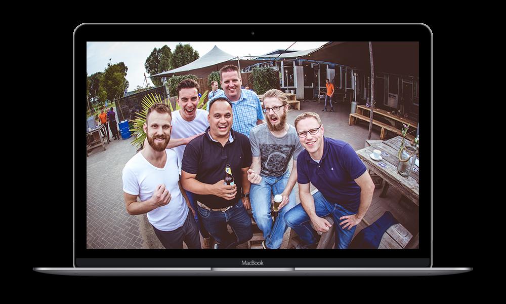 Vincent Suurenbroek team H4Hosting in samenwerking met AFIBER